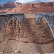 Stock Photo: Navajo Bridge