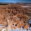 Bryce Amphitheater from Inspiration Point — Stock Photo #5158944