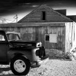 Stock Photo: Old Truck and General Store