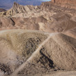 Death Valley's Zabriske Point — Stock Photo