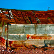 Old Rusty Shed — Stock Photo