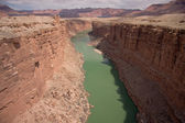 Colorado River from Navajo Bridge — Stock Photo