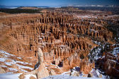 Bryce Amphitheater from Inspiration Point — Stock Photo