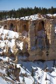 Cave des formations au point bryce — Photo