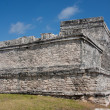 Stock Photo: El Castillo Temple at Tulum