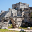 Royalty-Free Stock Photo: El Castillo Temple at Tulum