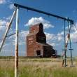 Old Prairie Grain Elevator — Stock Photo #5163773