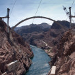 Hoover Dam Bypass Bridge Contruction — Stock Photo