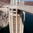 Hoover Dam Intake Tower on the Nevada Side of the Border — Stock Photo