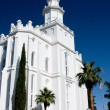 St. George Utah Temple — ストック写真