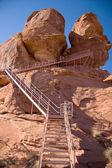 Atlatl Rock — Stock Photo