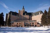 Winterscape of the Hotel Bessborough — Stock Photo