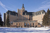 Winterscape of the Hotel Bessborough — Stock Photo