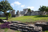 El Castillo Temple at Tulum — Stock Photo