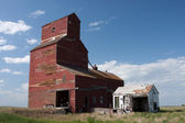 Canadian Prairie Grain Elevator — Stock Photo