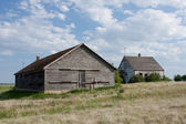 Oude praire homestead — Stockfoto
