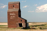 Old Prairie Grain Elevator — Stock Photo