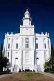 St. George Utah Temple — Stock Photo