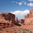 Park Avenue Viewpoint at Arches National Park — Stock Photo