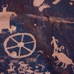������, ������: Petroglyphs at Newspaper Rock Indian Creek Utah