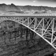 Navajo Bridge over the Colorado River and the Grand Canyon — Stock Photo