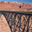 Royalty-Free Stock Photo: Navajo Bridge over the Colorado River and the Grand Canyon
