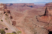Shafer Canyon Overlook — Stock Photo