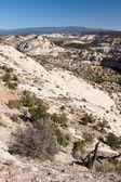 Highway 12 in Utah near the Calf Creek Canyon — Stock Photo