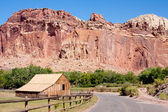 Barn at Capitol Reef National Park — Stock Photo