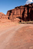 Desert Canyon Road — Stock Photo