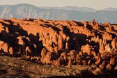 Fiery Furnace Formation at Arches National Park — Stock Photo