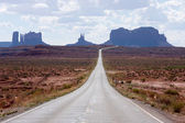 Where Forrest Gump Stopped Running — Stock Photo