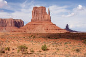 The Mittens at Monument Valley — Stock Photo