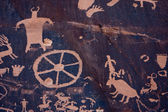 Petroglyphs at Newspaper Rock, Indian Creek, Utah — ストック写真