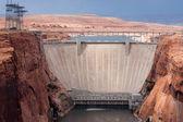 Glen Canyon Dam near Page, Arizona. — Stock Photo