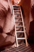 Steps in Lower Antelope Canyon — Stock Photo