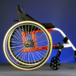 Modern wheelchair - Stock Photo