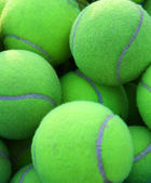 Tennis balls — Stock Photo