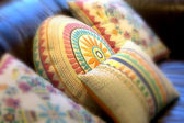 Decorative pillows — Stock Photo