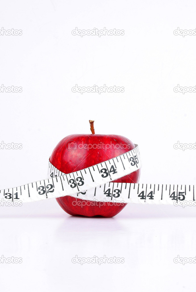 Weight lose — Stock Photo #5034593
