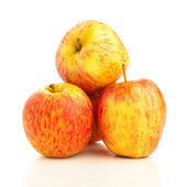 Isolada de maçãs — Fotografia Stock
