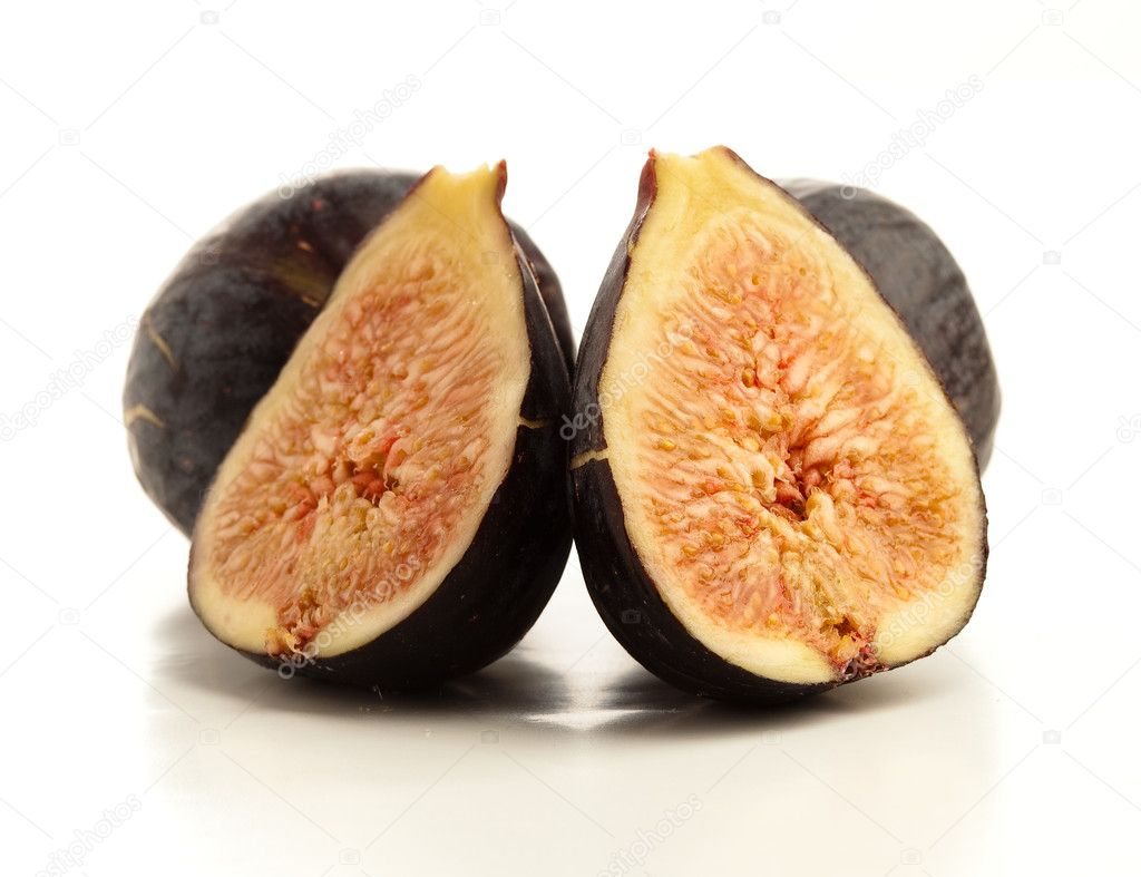 Figs isolated — Stock Photo #4987240