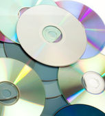 Pile of cds — Stock Photo