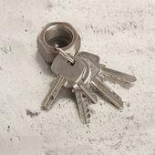 Evin anahtarları — Stok fotoğraf
