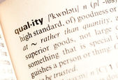 Quality def — Stock Photo