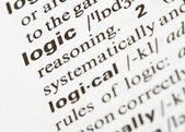 Logic word — Stock Photo