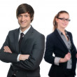 Group of happy business — Stockfoto