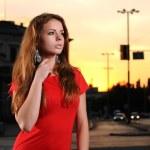 Female model posing — Stock Photo #5116053