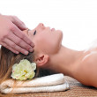 Stock Photo: Womhaving massage