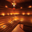 Finnish sauna — Stock Photo #5118037